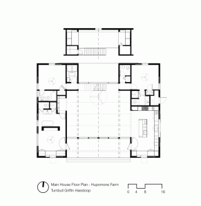 Plan ranch turnbull griffin haesloop architects hupomone house