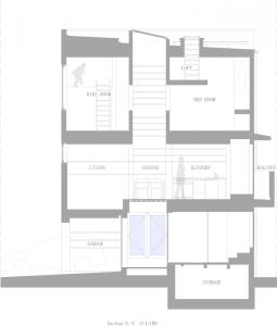 5144f2f7b3fc4b88c600008a_house-in-nada-fujiwarramuro-architects_section1-850x1000