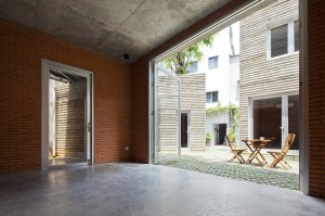 House for Trees / Vo Trong Nghia Architects-for-trees-vo-trong-nghia-architects_09_dining_room-1000x666